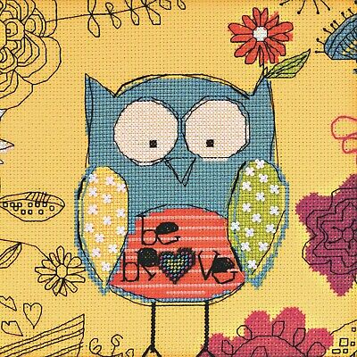 "Counted Cross Stitch Kit Luca-S B2306 /""The Owl/"""