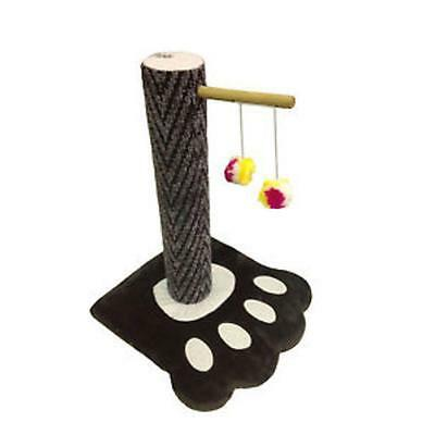 Cat Kitten Paw Foot Print Scratcher Cat Scratching Scratch Post and Cat Toy 47cm