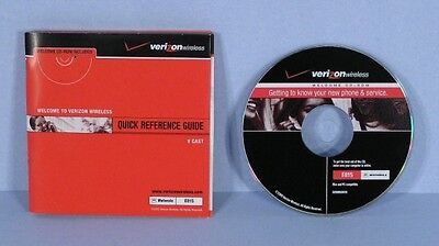 * Motorola E815 Quick Reference and V Cast Guide by Verizon Wireless with CD *