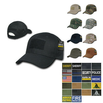 Tactical Operator Contractor Velcro Military Cap Caps Hat Hats with Patch RapDom