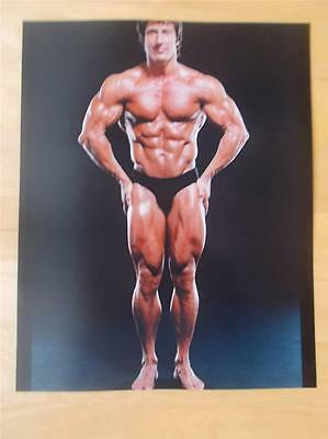 Mr Olympia Bodybuilder FRANK ZANE muscle bodybuilding 8 X 10 MUSCULAR photo
