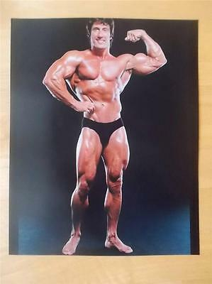 Mr Olympia Bodybuilder FRANK ZANE muscle bodybuilding 8 X 10 BICEPS photo