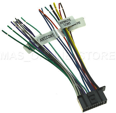 22PIN WIRE HARNESS For Kenwood DDX512 DNX5120 DNX512EX ... on kenwood ddx6019, kenwood wiring-diagram, kenwood instruction manual, kenwood remote control, kenwood power supply,