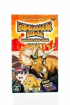 Dinosaur King Trading Card Game TCG Starter Deck Set - Free Booster NEW RARE