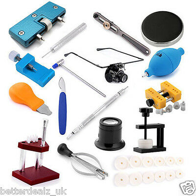 New Watch Band Link Pin Remover Case Cover Opener Holder Watchmaker Repair Kits