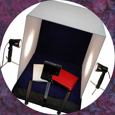 "NEW Photo Backdrop 20"" Photography Studio Lighting Tent Kit with Portable Tripod"