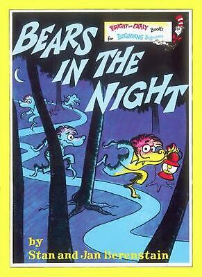Bears in the Night by Stan Berenstain (English) Paperback Book Free Shipping!
