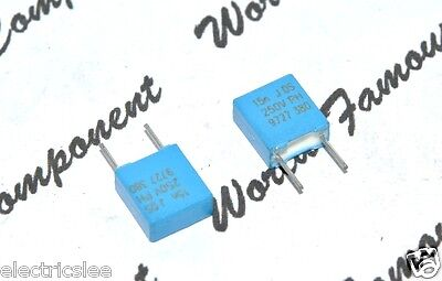 250V 5/% P:5mm Film Capacitor 0.022µF 22nF 10pcs PHILIPS MKP380 0.022uF