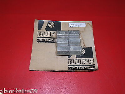 VINTAGE RUPP MINIBIKE #17495 BRAKE PIN HEX NUT, 71-75 ( this is for one pin nut)