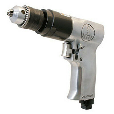 "Sunex Tools 3/8"" Drive Reversible Air Drill With Chuck - SX223"