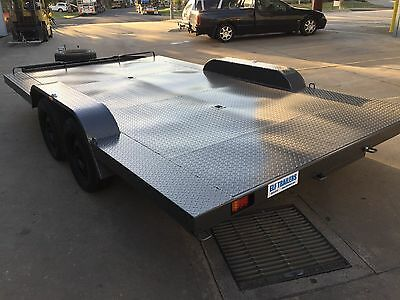 New Car Trailer Carrier Tandem extra wide axle 12X8FT 2T ATM USE4 BUGGY QUADS