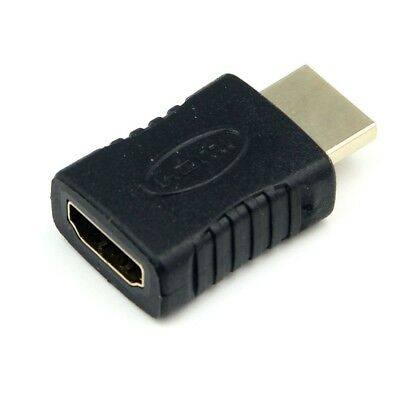 Socket Protection HDMI Male to Female Adapter Cable Convertor in Gold Plated