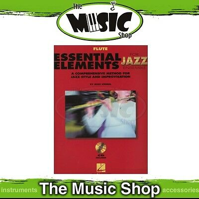 New Essential Elements for Jazz Ensemble: Flute Book & CD