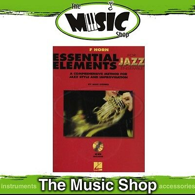 New Essential Elements for Jazz Ensemble: French Horn Book & CD