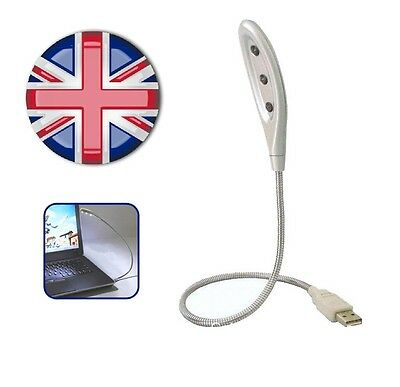 ✔ Portable LED Flexible USB Light Lamp for Laptop,Notebook,Desktop PC or any USB