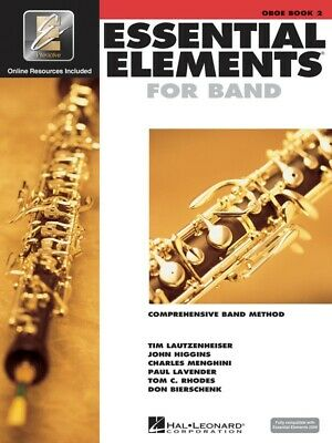New Essential Elements 2000: Oboe Book 2 & CD - Comprehensive Band Method