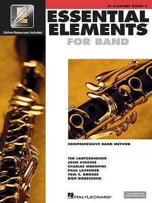 Essential Elements for Band: Bb Clarinet Book 2 with EEi (online Audio)
