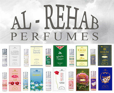 **YOU CHOOSE** Any 6ml Al Rehab Perfume Fragrance Oil Attar Roll On Bargain