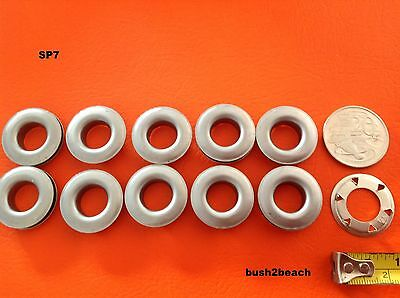 EYELETS SP7 STAINLESS STEEL GROMMETS marine grade +SPUR WASHERS x 10 inc POSTAGE