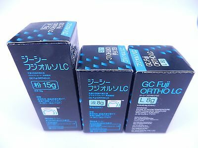 Dental GC Fuji ORTHO LC Glass Ionomer Cement Orthodontic resin light-cured