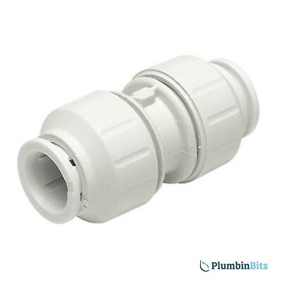 Speedfit 15mm Pushfit Copper or Plastic Straight Coupler PEM0415W Connector