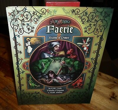 Ars Magica V 5th Fifth Edition Faerie Realms of Power Atlas Games