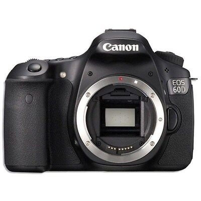USA Model Canon EOS 60D Digital SLR Camera Body Only