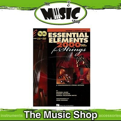 New Essential Elements for Strings: Teacher's Manual Book 1 with OLA