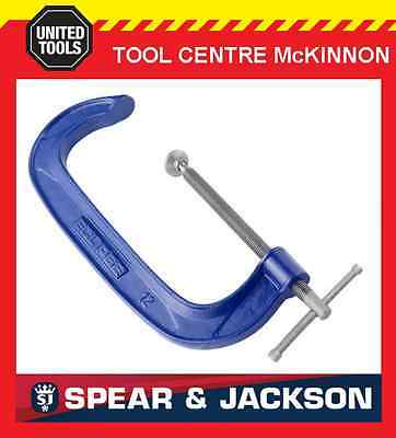 "2 x ECLIPSE BY SPEAR & JACKSON – 8"" / 200mm G-CLAMP"
