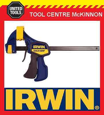 "IRWIN QUICK-GRIP 6"" / 150mm LIGHT DUTY 63kg FORCE ONE HANDED MINI BAR CLAMP"