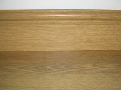 115mm or 63mm LAMINATE SOLID WOOD FLOOR SKIRTING BOARD NATURAL OAK