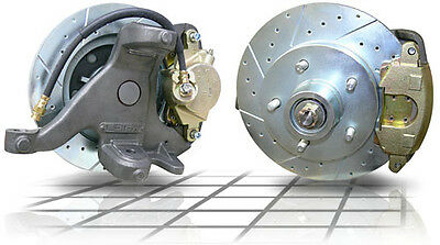 1963-1970 Gmc Chevy Truck Disc Brake Conversion Kit 6-Lug 2.5 Drop