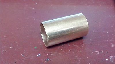 """Copper SLIP Coupling, FOR TUBING THAT IS  7/8"""" O.D., SMOOTH-NO STOP RING"""