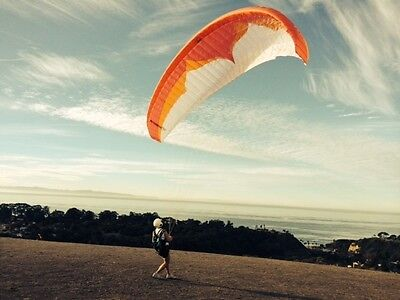 USED Ozone XXLite 19m Single Surface Paraglider for Advanced Pilots only.