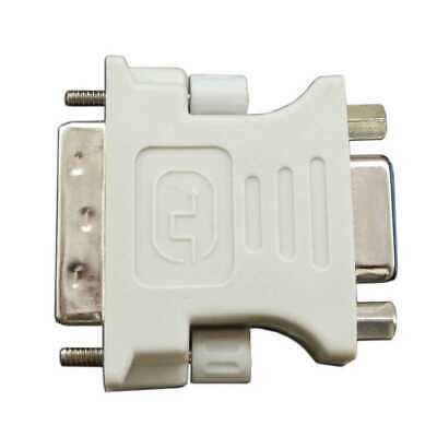 Adattatore DVI-D 24 +1 Pin Maschio Dual-Link a VGA Femmina Video Converter PC