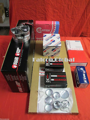 Chevy 454 LS6 1971 Engine Kit Hypereutectic Pistons+Moly Rings+Bearings+Gaskets