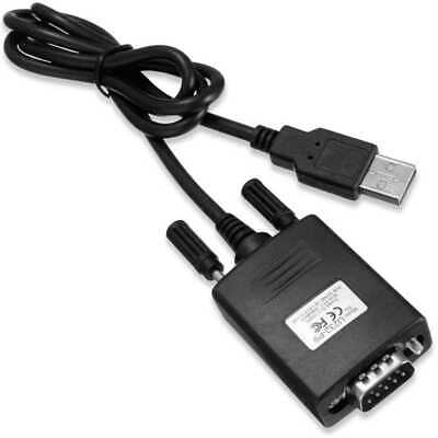 Adattatore Cavo Connetore USB Seriale Db 9 Db9 Rs-232 0,8 m Cable Adapter Serial