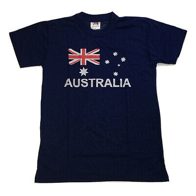 Adult AUSTRALIAN T Shirt Australia Day 100% COTTON Souvenir Tee Top Flag S-XXL
