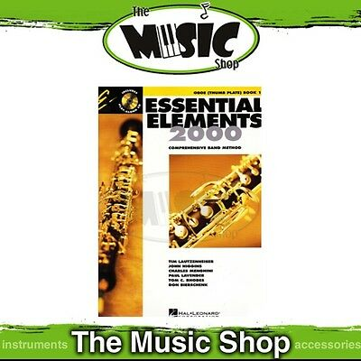 New Essential Elements for Band: Oboe (Thumb Plate) Book 1 & OLA - Band Method