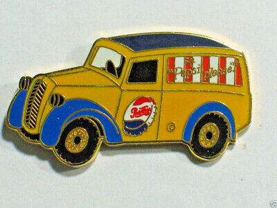 Pepsi Pin Vintage Pepsi Panel Truck Advertizing Pin Badge lg pin (#001 Drinks)