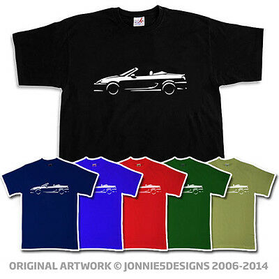 Mg Tf Mgtf Mgf 99-05 Inspired Classic T-Shirt - Choose From 6 Colours (S-Xxxl)