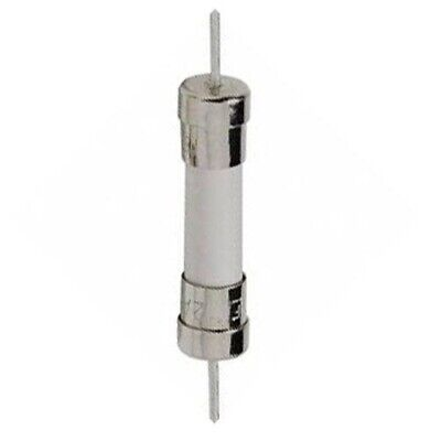 5x T15A 250V, T15 250V AXIAL, CERAMIC fuses 6X30mm, 15A 250V, SLOW-blow