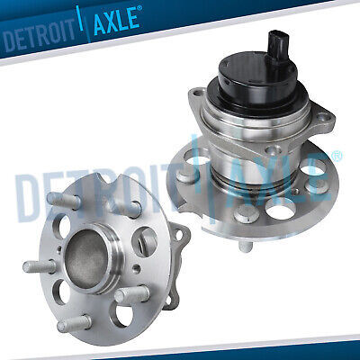 2 REAR Wheel Hub and Bearing Assembly for 1996-2005 Toyota RAV4 FWD w/ ABS