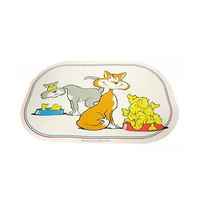 Catac Products Comic Cats Feeding Mat