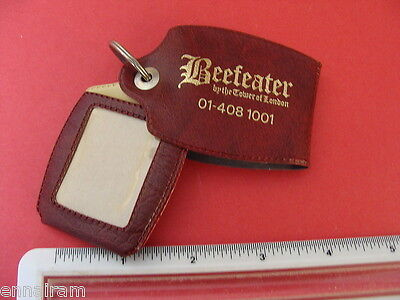 Beefeater Restaurant by the Tower of London Keyring Souvenir c. 1978