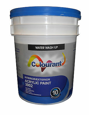 """ Only Mistinted "" Premium Exterior Interior Low Sheen Acrylic Paint 20 Litre"