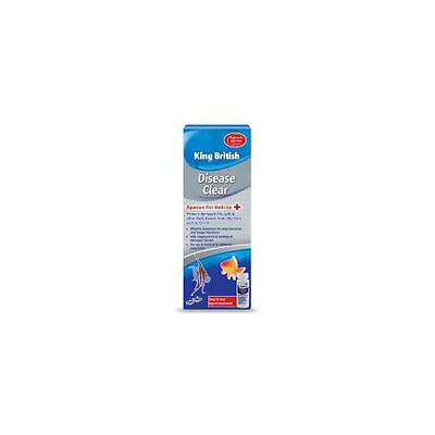King British Aquarium Disease Clear 50ml Accessories - Aquatic - Treatments