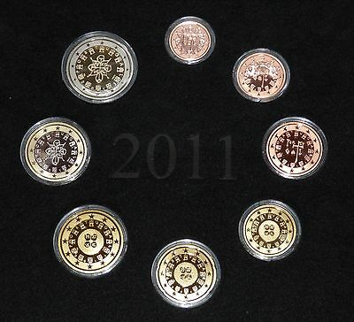 Portugal 2011 3,88 Euro KMS Official mint Set PP Proof, selten
