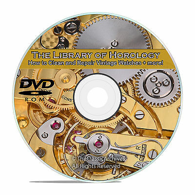 How to Make and Repair Vintage Watches, Vintage Horology Collection on DVD V61
