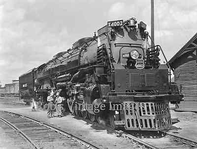 Union Pacific BIG Boy Steam Locomotive 4002 Railroad  Photo print  UP train